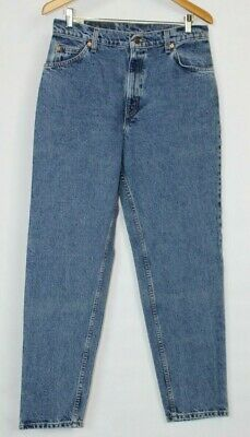 Levi's Vintage 950 Orange Tab Relaxed Fit Tapered Leg Jeans Juinor 13M girls