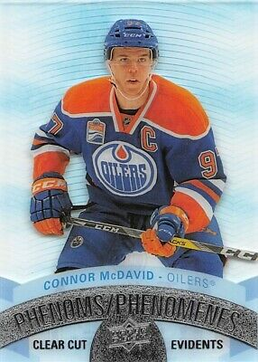 2017-18 Upper Deck Tim Hortons Clear Cut Phenoms #CCP1 Connor McDavid Oilers