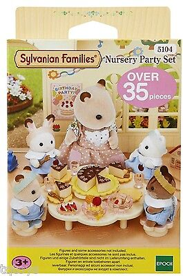 Sylvanian Families Nursery Party Set - Brand New - 5104