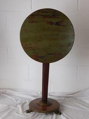 A GOOD 19th CENTURY ANTIQUE TILT TOP SIDE OR LAMP TABLE - ROUGH-LUXE PAINTED