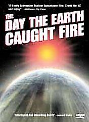 DAY THE EARTH CAUGHT FIRE rare Sci-Fi dvd Nuclear War JANET MUNRO 1961