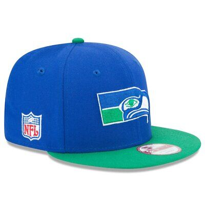 7ffd514bea6b01 New Era NFL Seattle Seahawks Historic Logo Baycik 9FIFTY Snapback  Adjustable Hat