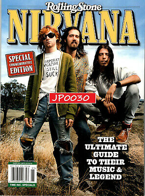 Rolling Stone Commemorative Edition 2019, NIRVANA, Reissue, Factory Sealed