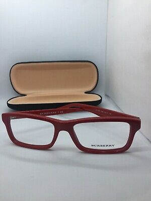 6f7a2add316e NEW BURBERRY B 2187 3364 Red Authentic Frames Rx Eyeglasses B2187 53 ...