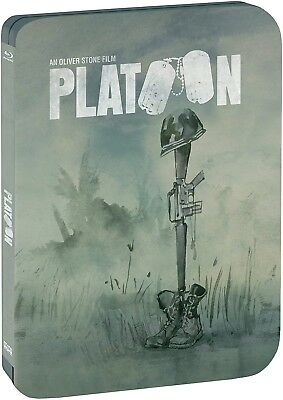 Platoon Limited Edition Steelbook (BLU-RAY) BRAND NEW!!!!