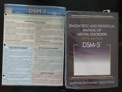 Diagnostic and Statistical Manual of Mental Disorders & DSM 5 overview pamphlet