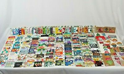 Starbucks Gift Card Lot New Unused Zero Balance Gift Cards Over 200 Unique Cards