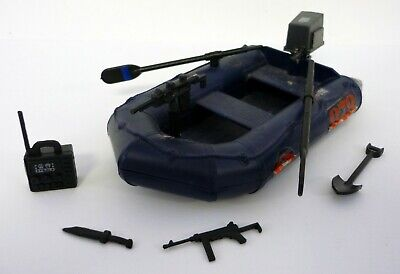 GI Joe Cobra Night Landing raft boat BOW GUN machine accessory part vtg 1985