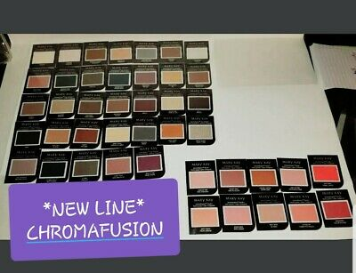 *43 piece NEW Mary Kay CHROMAFUSION Samples - FREE SHIPPING - PLEASE READ DESC*