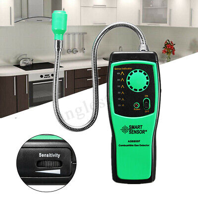 Portable Combustible Gas Detector Methane natural Gas Leak Analyzer Tester  US