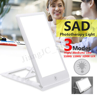 SAD Therapy Light 3 Modes Affective Disorder Mood Healing Wellness Lamp