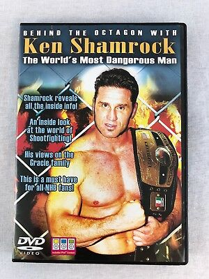 Ken Shamrock - Behind The Octagon (DVD, 2007) - Perfect condition