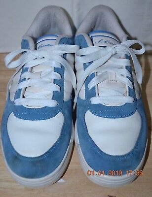 9ab1c9811f480b Reebok Men s S.Carter 9 Classic Low Elite Jay Z Blue Suede White HTH  Colorway