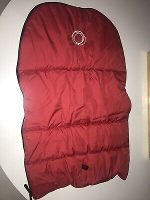 Bugaboo Cameleon Red Footmuff Stroller Seat Cover ONLY