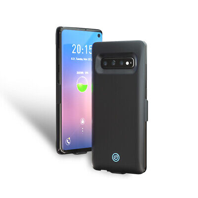 External Power Bank Back Battery Case Cover Charger USB For Samsung S10 S10+ E