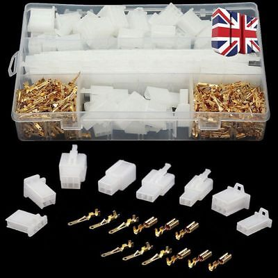 40 Set Motorcycle Car Electrical 2.8mm 2|3|4|6 Pin Wire Auto Connectors Terminal