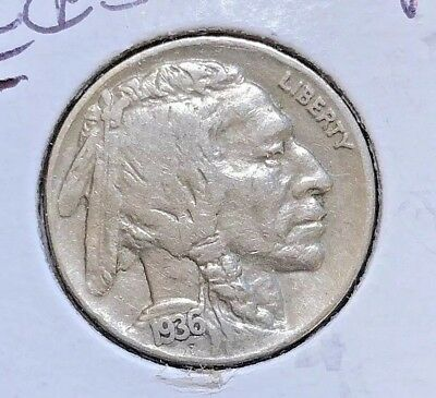 "1936-P US Buffalo Nickel x3 ~All Three Better Grade Coins  ""LOW FIXED PRICE"" N43"