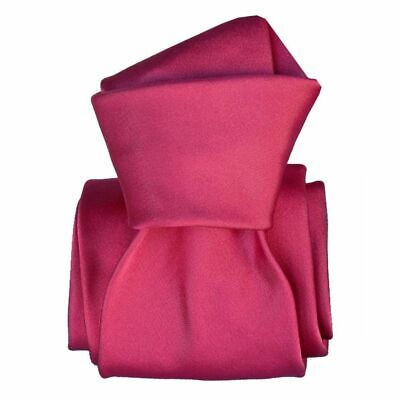 Cravate luxe soie satin faite main - Rose -