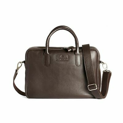 Sac homme, SIMON CARTER, Hove brown en cuir