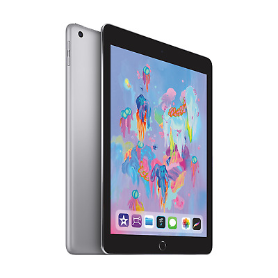 "Apple iPad 9,7"" 2018 Wi-Fi 32 GB Space Grau (MR7F2FD/A)"