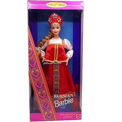 Barbie Collector Edition Dolls of the World Russian Barbie Doll