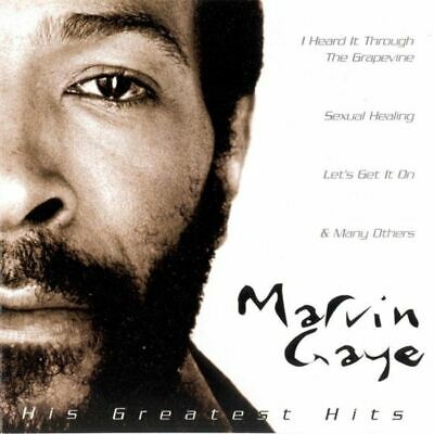 MARVIN GAYE his greatest hits (CD, Compilation) Funk/Soul, very good condition,