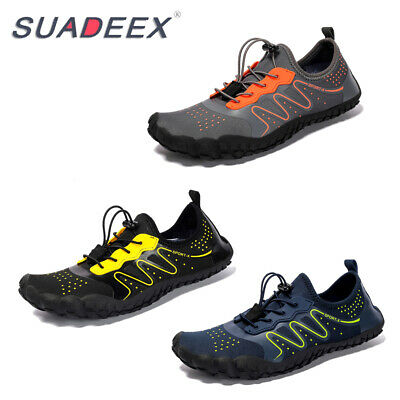 Mens Mesh Water Sport Shoes Breathable Surf Beach Trail Hiking Outdoor Snekaers