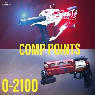 [PS4] Destiny 2 COMP POINTS 0-2100 THE RECLUSE/LUNAS HOWL [FAST] [GUARANTEED]