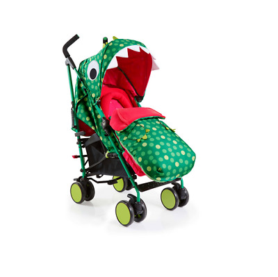 Brand new Cosatto supa 2018 pushchair Dino Mighty with free bag footmuff & pvc