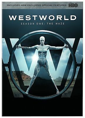 Westworld: The Complete First Season 1 (DVD, 2017, 3-Disc Set)  Brand New