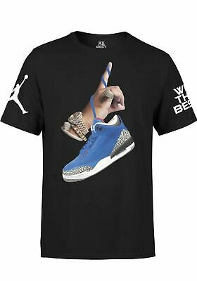 297b3bd170aa DJ KHALED X Jordan with Leather Sneakers T-shirt – Large (L) – Black ...