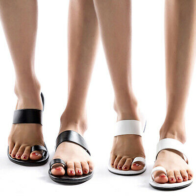 a7be3d1db7 Summer Women's Slippers Flip Flops Beach Toe Ring Shoes Comfort Sandals  Casual