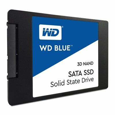 """WD Blue 500GB 3D NAND SSD 2.5""""/ 7mm cased"""