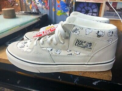 7101966dc2cd7b Vans Half Cab (Peanuts) Snoopy Family Marshmallow US Men 10.5 VN000DZ3NVY  New