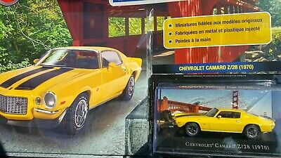 Collectionnez les voitures American Cars-1/43-Chevrolet CAMARO Z/28 1970-Altaya3