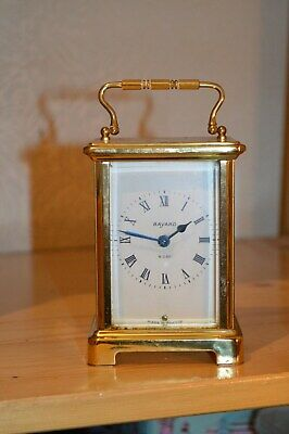 VINTAGE CARRIAGE CLOCK by BAYARD FRANCE CK1