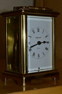 VINTAGE CARRIAGE CLOCK by BAYARD FRANCE CK2