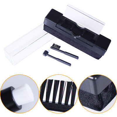 CO_ Vinyl Record Cleaning Audio Stylus Cleaner Anti Dirt Carbon Fiber Brush Remo