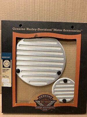 Harley Davidson Springer Timer & Derby Cover Kit Birch White 94543-97AV