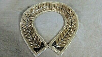 Hand Made Beaded Collar Vintage - Baar and Beards
