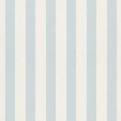 Bambino Light Blue And White Stripe Wallpaper By Rach 246025