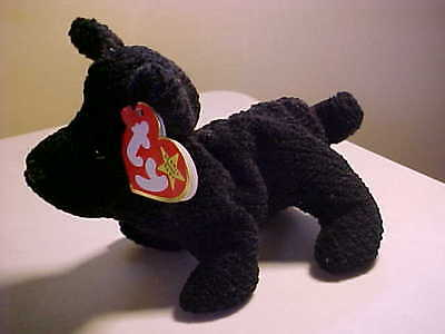 d1b9e864b84 Retired Beanie Babies Scottie the dog DOB 6 15 1996 Style 4102