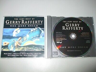 Gerry Rafferty - One More Dream (Very Best Of) (CD) 16 Greatest Hits - Nr Mint