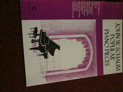 John W. Schaum Popular Piano Pieces-Course C-The Purple Book -Fame:Pink panther