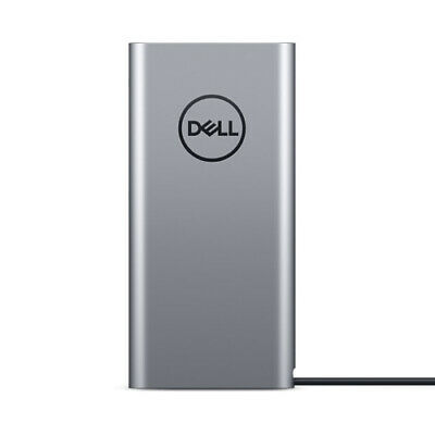 Dell PW7018LC Notebook Power Bank Plus USB C 65 Wh - USB-C - USB A - Silver
