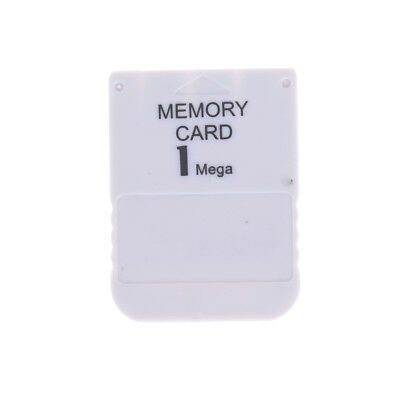 1MB Memory Card For Playstation1 PS1 Video Game Accessories Nq