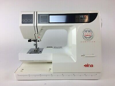 Elna Envision 9006 Computer Embroidery Machine / FULLY SERVICED / Make An Offer!