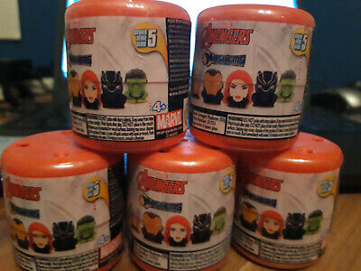 Marvel Avengers Mashems Series 5 -  Recieve 5 Sealed Tubs - New