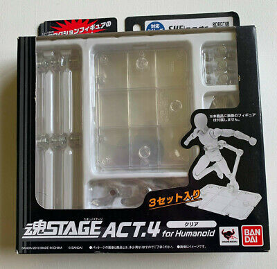 Bandai Tamashii Nations Stage Act Humanoid Stand Set of 2 IN STOCK USA SELLER