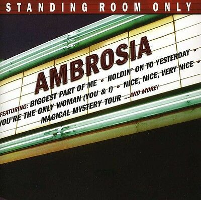 Ambrosia - Standing Room Only [New CD]